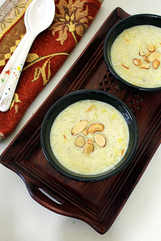 Sweet potato kheer recipe (How to make sweet potato kheer)