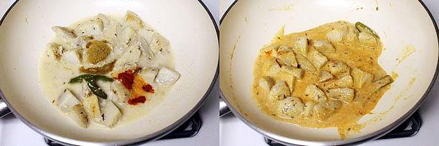 Vrat ki dahi arbi recipe (How to make dahi arbi for vrat, fasting)