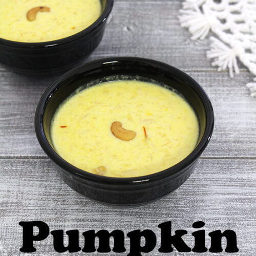 Pumpkin kheer recipe (kaddu ki kheer recipe), How to make kaddu kheer
