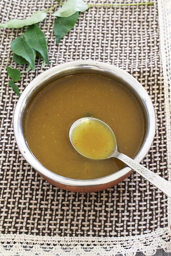 Pappu charu recipe (How to make pappu charu, Andhra style recipe)