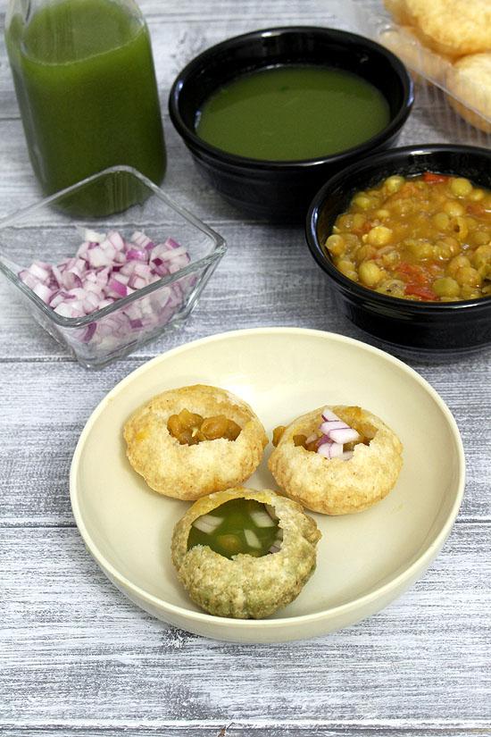 How To Make Pani Puri Pani At Home In Hindi