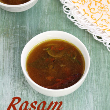 Rasam recipe (How to make rasam recipe without rasam powder)