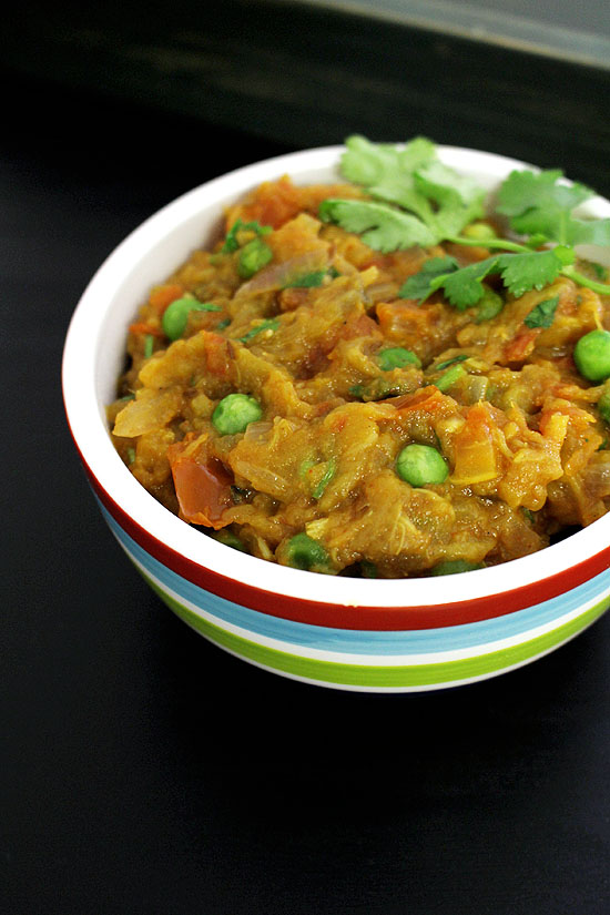 Baingan bharta recipe (How to make baingan bharta recipe)