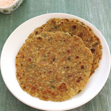 Cabbage paratha recipe (How to make cabbage paratha recipe)