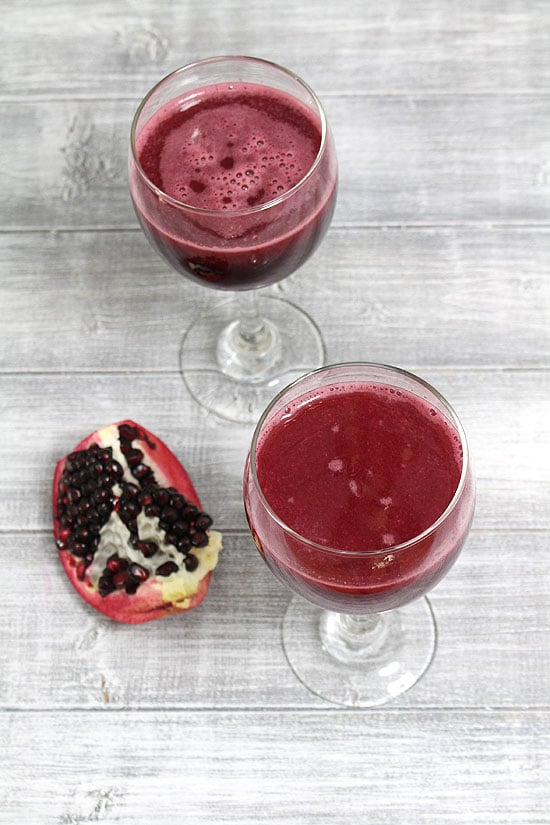How to make pomegranate juice recipe