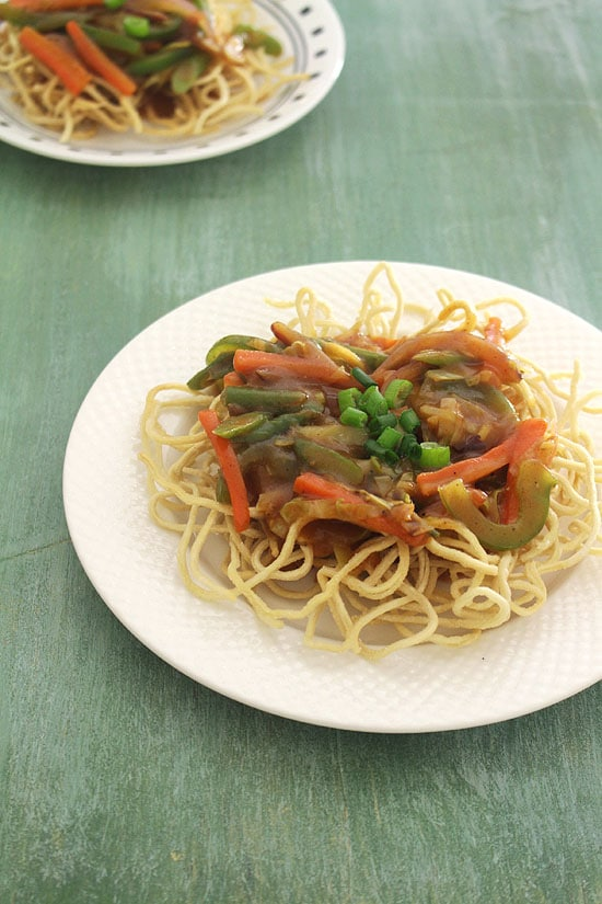 How to make veg american chop suey