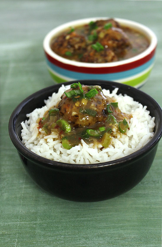 Veg manchurian recipe (How to make vegetable manchurian gravy recipe)