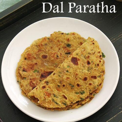 Dal paratha recipe (How to make dal paratha recipe), Leftover dal paratha