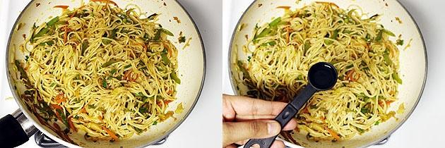 Hakka noodles recipe (How to make veg hakka noodles recipe)