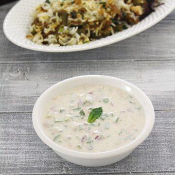 Vegetable Raita Recipe (Mixed Veg Raita) How to make vegetable raita
