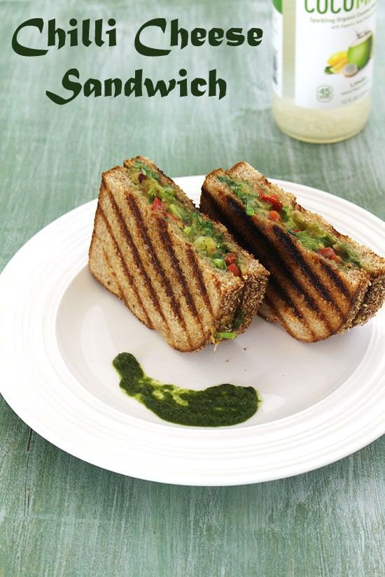 How to make Mumbai Chilli Cheese Toast Sandwich