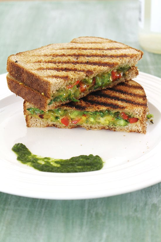 Chilli Cheese Sandwich Recipe