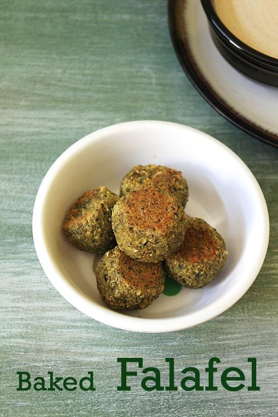Falafel Recipe (Fried and Baked falafel recipe) How to make Falafel recipe