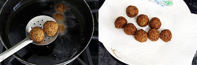 Falafel Recipe (Fried and Baked falafel recipe) How to make Falafel recipe