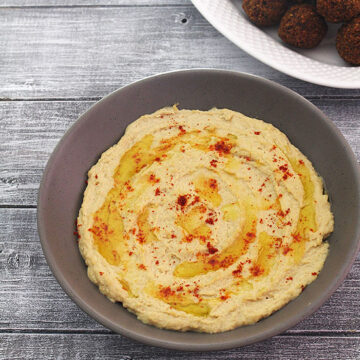 Hummus recipe (How to make hummus recipe) Homemade hummus dip recipe