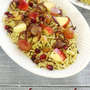 Kashmiri Pulao Recipe (How to make Kashmiri Pulao Recipe)