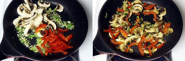 Mushroom Fried Rice Recipe (How to make Mushroom Fried Rice Recipe)