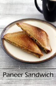 Paneer Sandwich Recipe (How to make Paneer Sandwich Recipe)