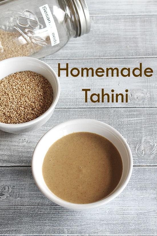 Tahini Recipe (How to make Tahini Paste