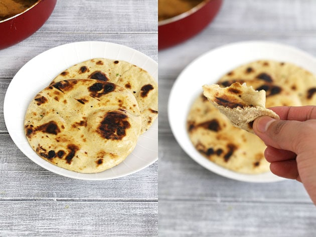 Tandoori Roti Recipe (How to make Tandoori Roti on Tawa, Stove top)