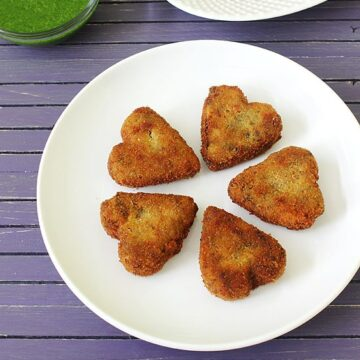 Veg Cutlet Recipe (How to make Vegetable Cutlet Recipe) Veg Cutlets