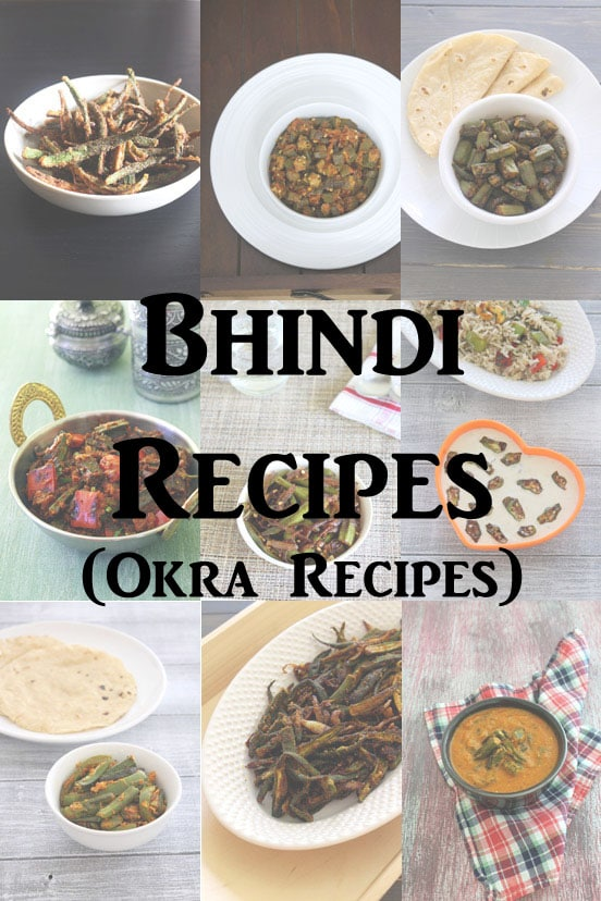 Bhindi recipes (15 Easy Indian Bhindi Recipes) Okra Recipes