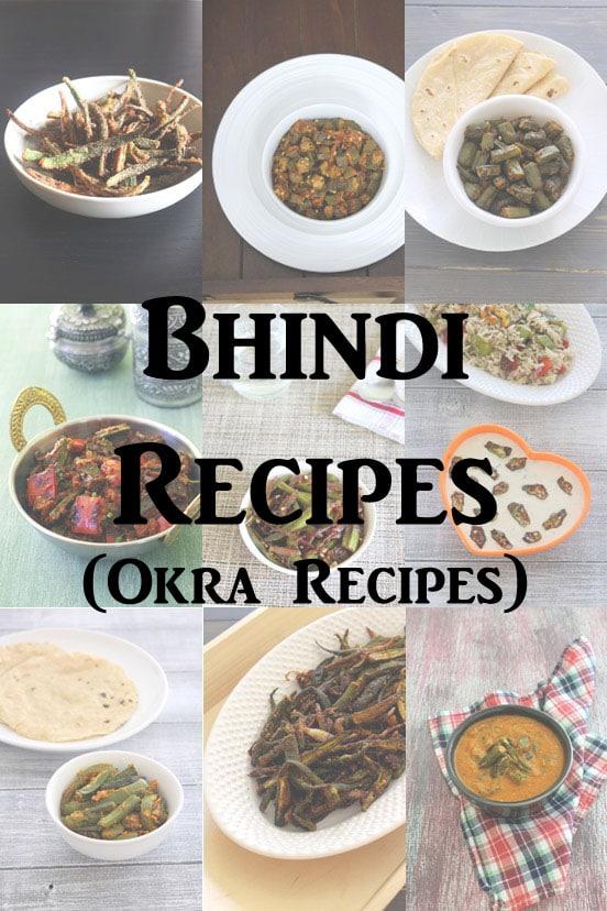 Bhindi recipes (15 Easy Indian Bhindi Recipes) Okra Recipes