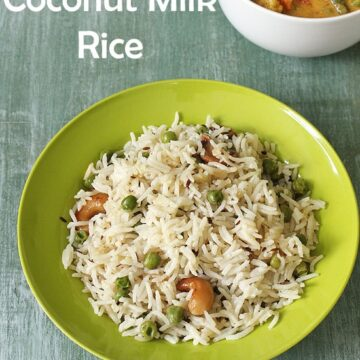 Coconut Milk Rice Recipe (How to make coconut milk rice recipe)