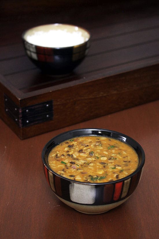 Maah Chole Ki Dal Recipe (How to make maah chole di dal recipe)