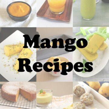Mango Recipes (32 Must Try Mango Recipes), Indian Mango Recipes