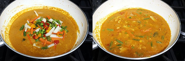 Mixed Vegetable Curry Recipe (How to make Mix Veg Curry Recipe)