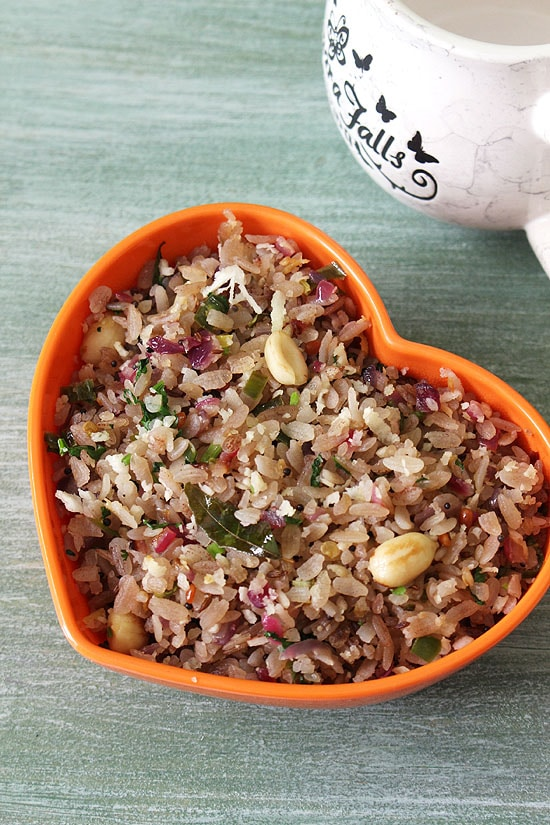 Poha Upma Recipe (Aval Upma Recipe), How to make Poha upma recipe