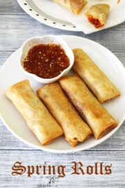 Spring Rolls Recipe (Veg Spring Rolls) How to make spring roll recipe