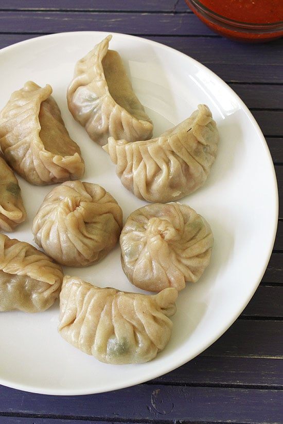 Momos Recipe (Veg Momos Recipe), How to make momos step by step