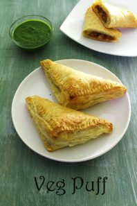 Veg Puff Recipe (How to make Vegetable Puff Recipe, Bakery style)