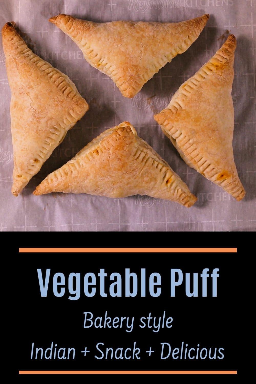 veg puff pin