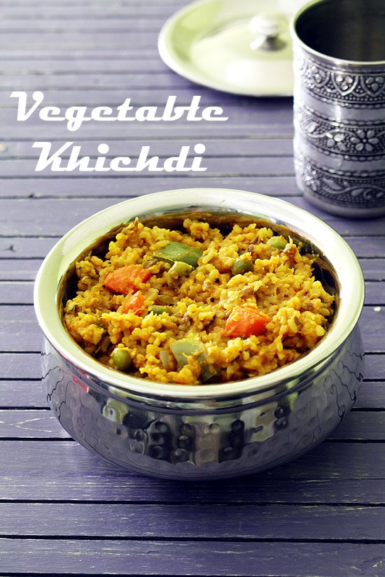 Vegetable khichdi recipe how to make mixed vegetable masala khichdi vegetable khichdi recipe forumfinder Image collections