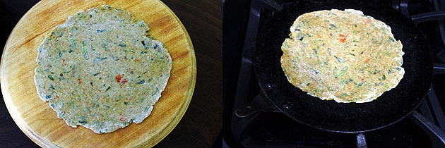 Vegetable Paratha Recipe (How to make mixed vegetable paratha recipe)