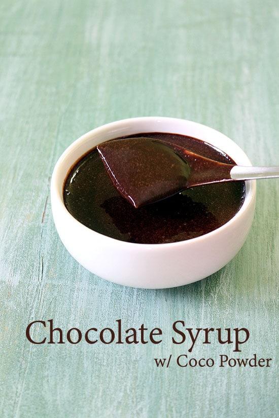 Chocolate Sauce Recipe Chocolate Syrup Recipe With Cocoa Powder