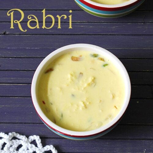 Rabri Recipe (How to make Rabdi at home), Lachhedar Rabri Malai