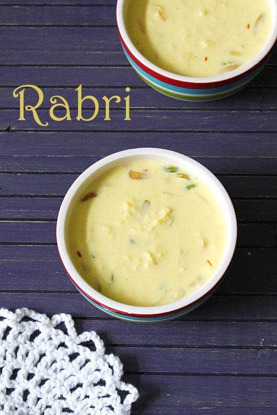 Rabri Recipe (How to make Rabdi at home), Lachhedar Rabri Malai