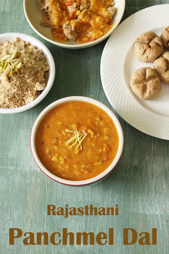 Panchmel Dal Recipe (Rajasthani Panchratna Dal Recipe)