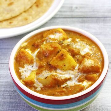 Aloo Paneer Recipe (How to make Aloo Paneer Curry Recipe)