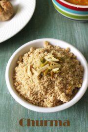 Churma Recipe (How to make Rajashthani Churma Recipe)