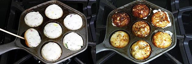 Paniyaram Recipe (How to make Kuzhi Paniyaram using Leftover Idli Batter)