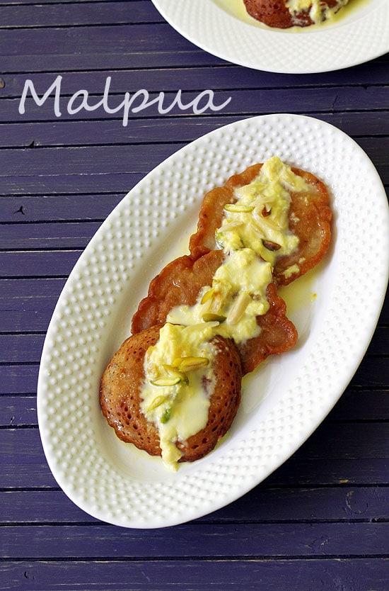 Malpua Recipe (How to make Malpua Rabdi Recipe)