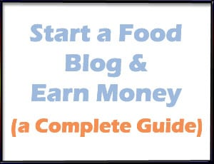 Food blogging resources