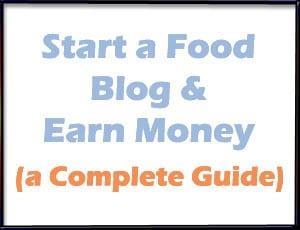 Food blogging resources