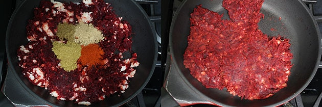 Beetroot Paratha Recipe (How to make Beetroot Paratha - Stuffed Version)