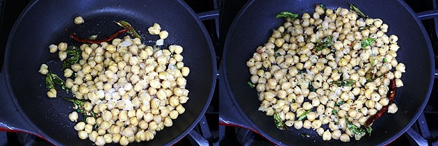 Chana Sundal Recipe (How to make Chickpeas Sundal Recipe)